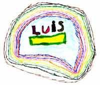 Luis enmarcado (Dibujo de un niño)