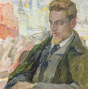 """Rilke en Moscú"" (Leonid Pasternak, 1928)"